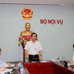 Cơ cấu tổ chức của Bộ Nội vụ