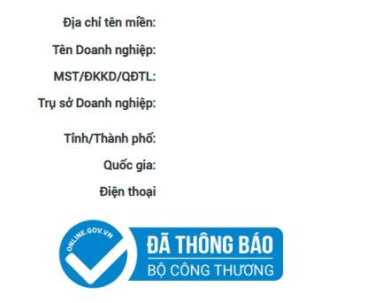 Thành lập website thương mại điện tử bán hàng tại Việt Nam