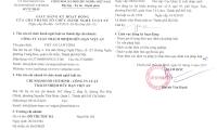 Giấy đăng ký hoạt động của Chi Nhánh Luật Việt An tại TP HCM