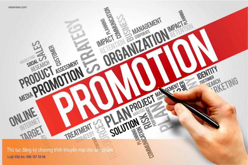 Thủ tục đăng ký chương trình khuyến mại cho sản phẩm