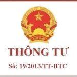 Thong tu 19