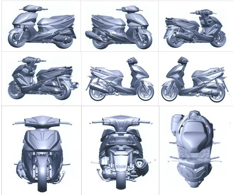 Kiểu dáng công nghiệp xe mô tô